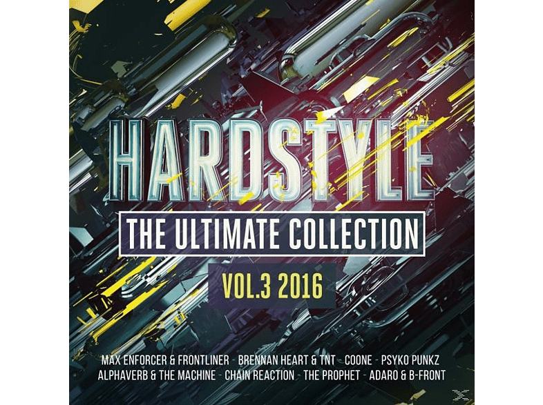 VARIOUS - Hardstyle Ultimate Collection 03/2016 [CD]