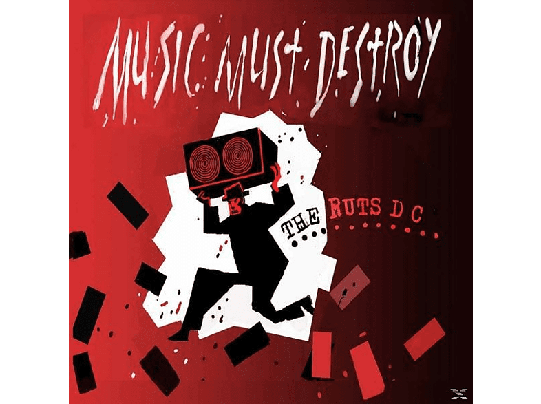 Ruts Dc - Music Must Destroy [Vinyl]