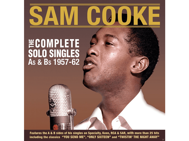 Sam Cooke - The Complete Solo Singles As & Bs 1957-62 [CD]