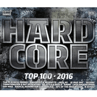 VARIOUS - Hardcore Top 100-2016 [CD]