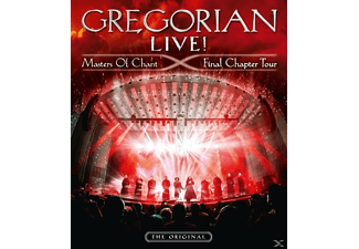Gregorian - LIVE! Masters Of Chant-Final Chapter Tour - (Blu-ray + CD)