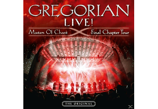 Gregorian - LIVE! Masters Of Chant-Final Chapter Tour - (CD)