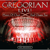 Gregorian - LIVE! Masters Of Chant-Final Chapter Tour [CD]