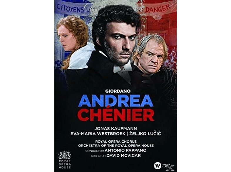 Jonas Kaufmann, Orchestra Of The Royal Opera House, Royal Opera Chorus, Eva-maria Westbroek, Zeljko Lucic - Andrea Chenier (Royal Opera House) [DVD]