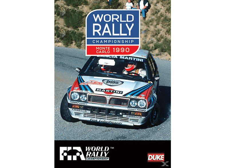 WORLD RALLY CHAMPIONSHIP MONTE CARLO1990 [DVD]