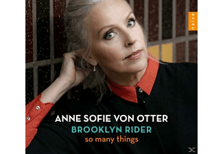 Anne Sofie Von Otter, Brooklyn Rider - So Many Things - (CD)