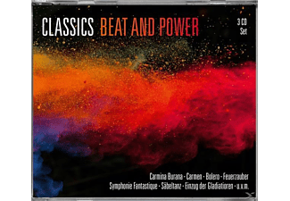 VARIOUS - CLASSICS BEAT AND POWER - (CD)