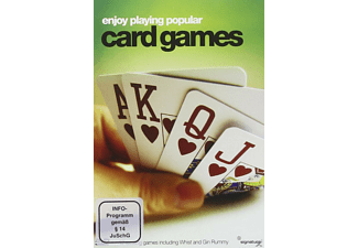 ENJOY PLAYING POPULAR CARD GAMES - (DVD)