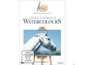 PAINT A HORSE IN WATERCOLOURS - ARTIST SERIES - (DVD)