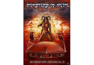 VARIOUS - Monsters Of Metal Vol.10 - (DVD)