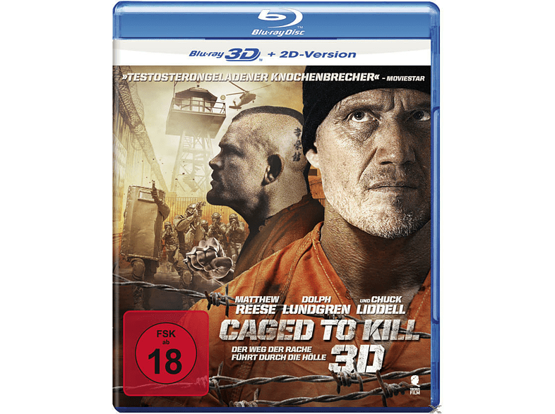 Caged To Kill [3D Blu-ray (+2D)]