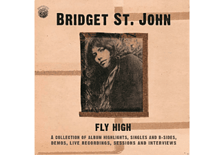 Bridget St. John - Fly High-A Coll.Of Singles+B-Sides...(2CD) - (CD)