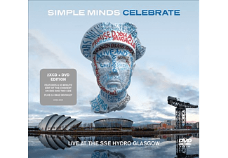 Simple Minds - Celebrate: Live from the SSE Hydro Glasgow (CD + DVD)