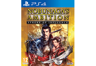 Nobunagas Ambition Sphere of Influence PlayStation 4