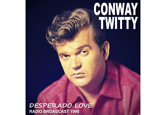 Conway Twitty - Desperado Love/Radio Broadcast 1990 - (CD)