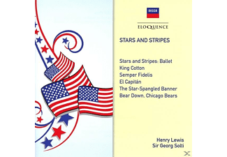 Lewis/Solti/National Philharmonic/Chicago Symphony - Stars and Stripes - (CD)