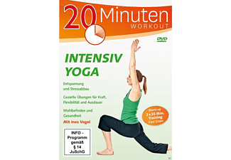 Intensiv Yoga - 2x 20 Minuten Workout - (DVD)