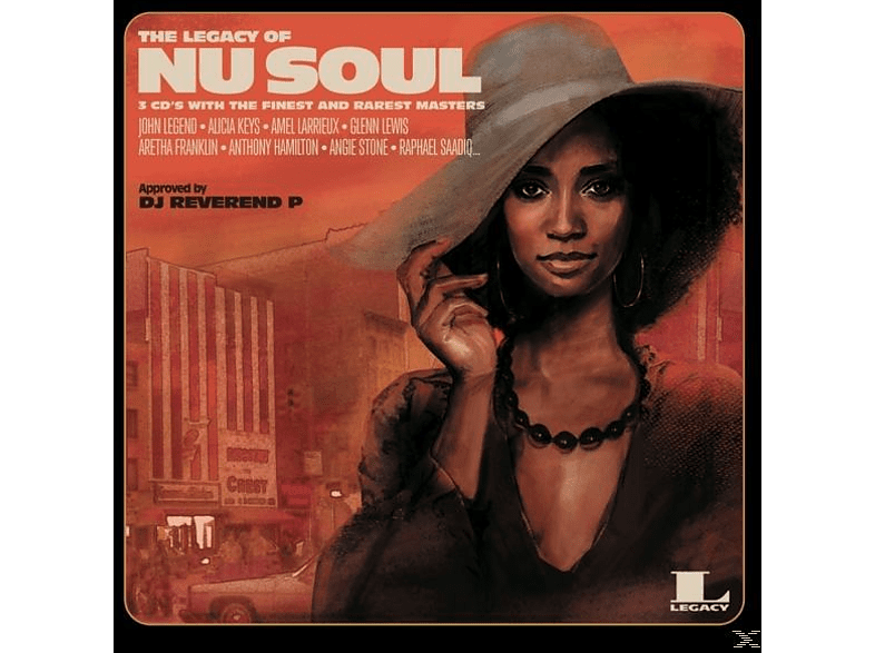 VARIOUS - The Legacy of Nu Soul [CD]