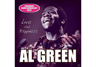 Al Green - Love And Happiness/Radio Broadcast 1973 - (CD)
