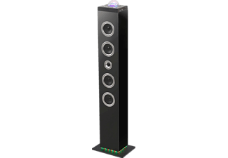 Torre de sonido - Big Ben TW10, 120 W, Efectos luminosos, Bluetooth, USB, Negro