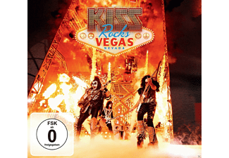 Kiss - Kiss Rocks Vegas (Ltd.DVD+CD) - (DVD + CD)