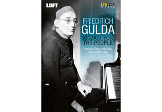 Friedrich Gulda - Mozart For The People - (DVD)