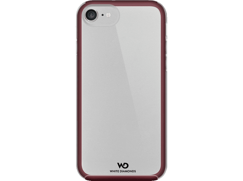 HAMA Essential , Backcover, Apple, iPhone 7, Kunststoff/Polycarbonat/Thermoplastisches Polyurethan, French Burgundy