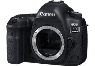 CANON EOS 5D MARK IV Body Spiegelreflexkamera, 30.4 Megapixel, 4K, Full HD, HD, Touchscreen Display, WLAN, Schwarz