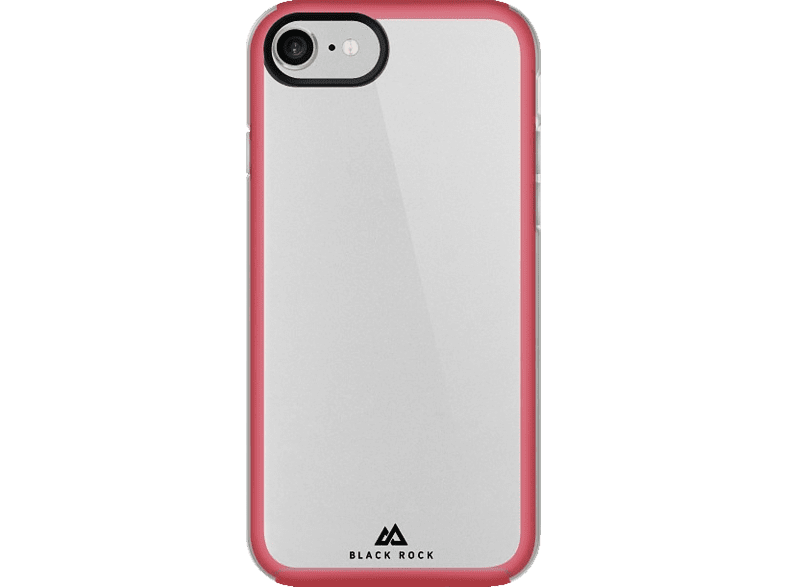 HAMA Embedded , Backcover, Apple, iPhone 7, Polycarbonat/Thermoplastisches Polyurethan, Rot