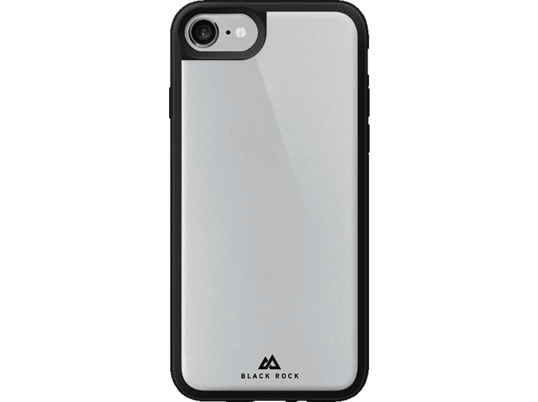 HAMA Tough and Touch , Backcover, Apple, iPhone 7, Glas/Polycarbonat/Thermoplastisches Polyurethan, Transparent