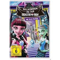 Monster High - Willkommen an der Monster High [DVD]