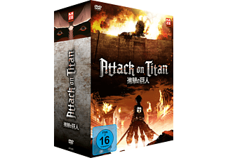 Attack on Titan – DVD Box 1 – Limited Edition mit Sammelbox - (DVD)