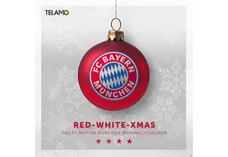 "VARIOUS - FC Bayern München Pres.""Red White Xmas-Weihnachtsa - (CD)"