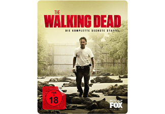 The Walking Dead - Staffel 6 Uncut (Exklusives Steelbook mit magnetischem 3D-Lentikularcover) - (DVD)