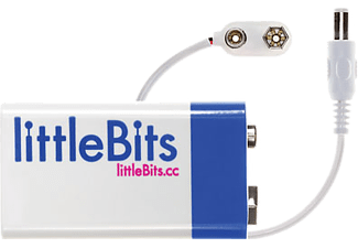 LITTLEBITS 9V Batteri + Kabel