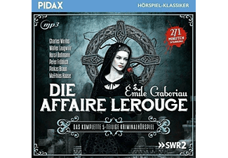 Emile Gaboriau - Die Affaire Lerouge - (CD)