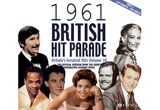 VARIOUS - The 1961 British Hit Parade Part Three: Sept-Dec - (CD)
