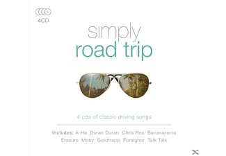 VARIOUS - Simply Road Trip - (CD)