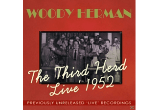 Woody Herman - The Third Herd 'Live' 1952 - (CD)