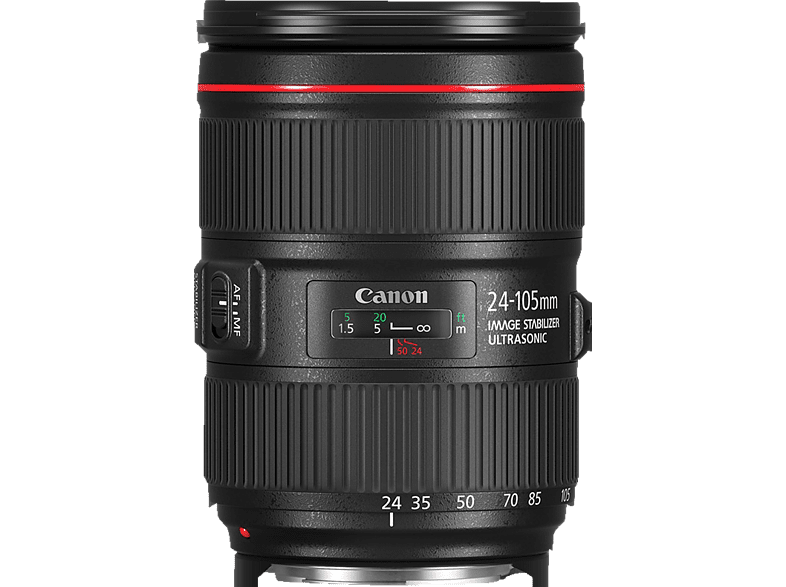CANON EF 24-105MM f/4 L IS II USM  für Canon EF-Mount, 24 mm - 105 mm, f/4