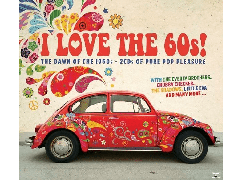 VARIOUS - I Love The 60s [CD]