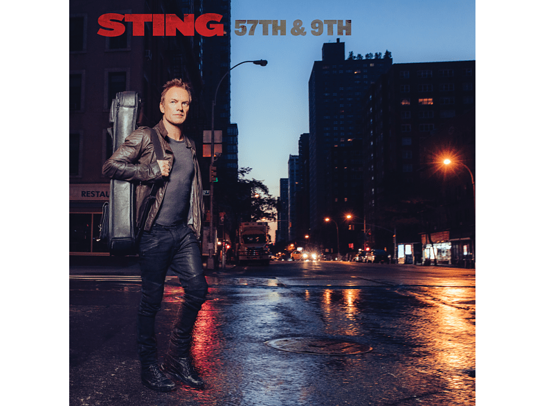 Sting - 57th & 9th (Ltd.Super Deluxe Edt.) [CD + DVD Video]