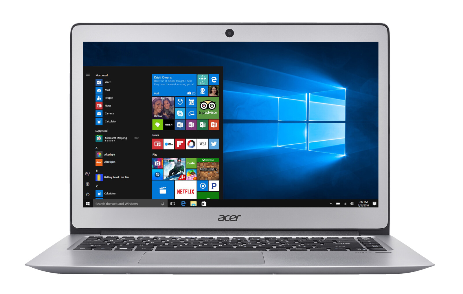 ACER Swift 3 (SF314-51-731X), Notebook mit 14 Zoll Display