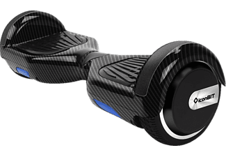 ICONBIT Smart Scooter Limited Edition CARBON LOOK E-Board, Hochwertige Vollgummireifen, Carbon-Look