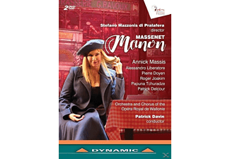 Annick Massis, Alessandro Liberatore, Pierre Doyen, Roger Joakim, Papuna Tchuradze, Patrick Delcour, Orchestra And Chorus Of The Opéra  Royal De Wallonie - Manon - (DVD)