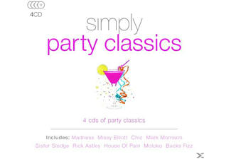 VARIOUS - Simply Party Classics - (CD)