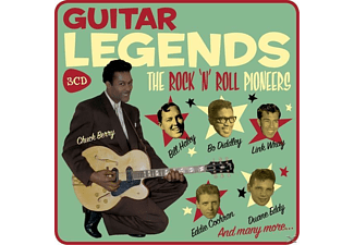 VARIOUS - Guitar Legends (Lim.Metalbox Ed) - (CD)