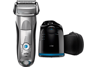 BRAUN Series 7 7899cc Wet&Dry Elektrisk Rakapparat Med Clean&Charge-system - Premium Silver