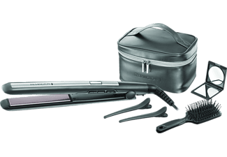 REMINGTON S5506GP PRO Ceramic Titanium, Glätteisen, 53 Watt, Grau