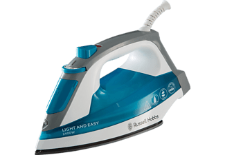 RUSSELL HOBBS 23590-56 Supreme Steam Light&Easy, Dampfbügeleisen, 2400 Watt, Blau/Weiß